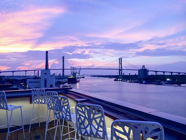 End 2020 with sweeping views over the Savannah River at Top Deck. - COURTESY OF TOP DECK