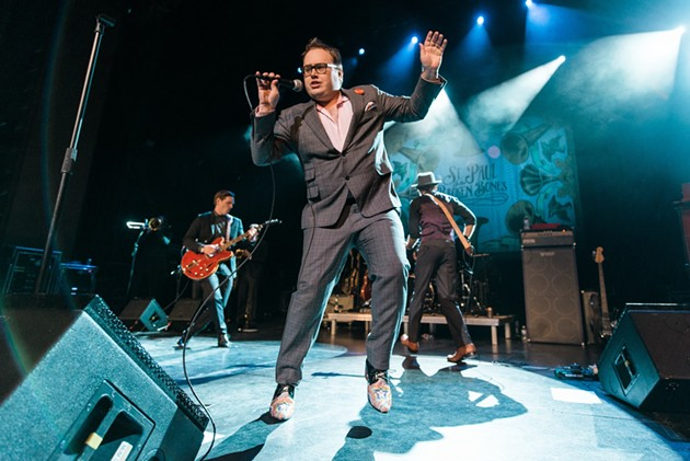 St. Paul and the Broken Bones, one of several acts set to play during the 2021 Savannah Music Festival. - COURTESY OF THE SAVANNAH MUSIC FESTIVAL