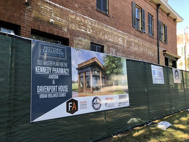 The Kennedy Pharmacy on Broughton Street will house the Davenport House gift shop and staff offices following the renovation. - NICK ROBERTSON/CONNECT SAVANNAH