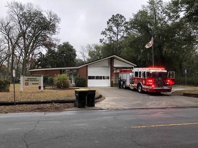 Savannah Fire is participating in a pilot project to develop a high-tech risk assessment tool. - NICK ROBERTSON/CONNECT SAVANNAH