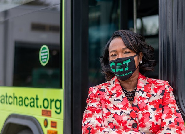 Former CAT CEO Bacarra Mauldin. - COURTESY OF CHATHAM AREA TRANSIT