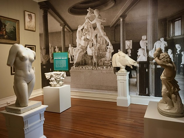 Visitors can view varied artworks of multiple genres with a new perspective at Savannah's new 'Progressive Regression' exhibit. - COURTESY OF THE TELFAIR MUSEUMS