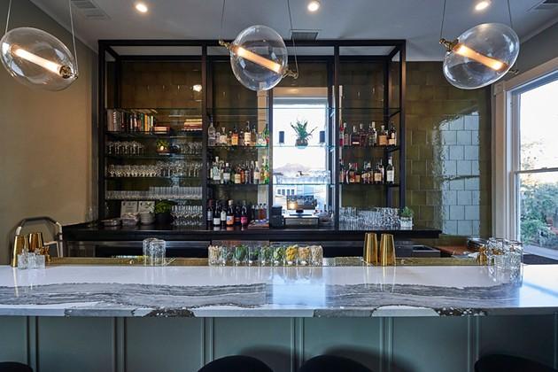 The tasteful bar at Common Thread. - JOHN PARK
