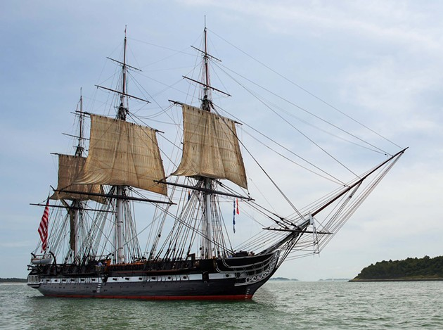 The USS Constitution. - COURTESY OF THE USS CONSTITUTION MUSEUM