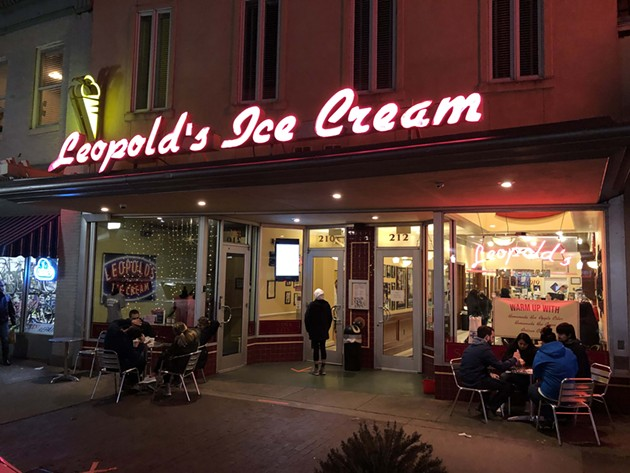 Leopold's Ice Cream is providing tasty prizes for the writing-challenge winners. - NICK ROBERTSON/CONNECT SAVANNAH