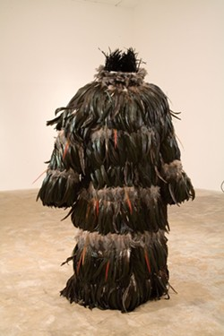 'Ghettobird Tunic' by Sanford Biggers. - PHOTO COURTESY OF SCAD