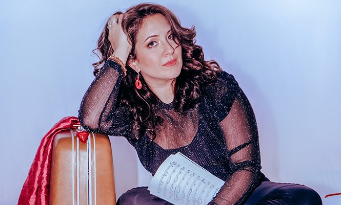 The 2021 American Traditions Vocal Competition Gold Medal winner, Nicole Zuraitis. - PHOTO COURTESY OF NICOLE ZURAITIS