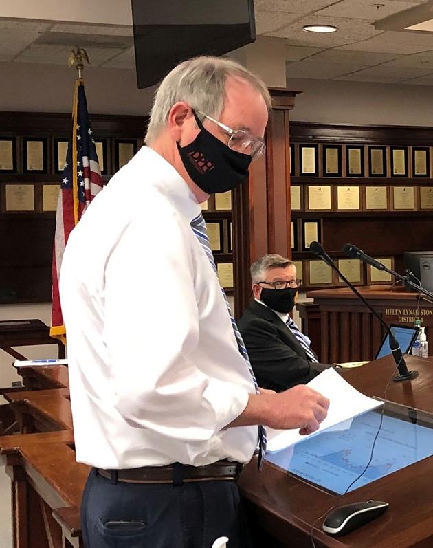 Dr. Lawton Davis on Feb. 26 - PHOTO BY NICK ROBERTSTON