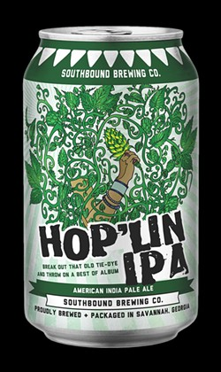 This St. Patrick's Day, Southbound Brewing Company is serving up their classic Hop'lin IPA. - PHOTO COURTESY OF SOUTHBROUND BREWING COMPANY