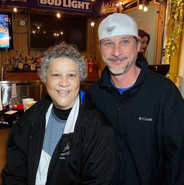 Patrons gather at Coach's Corner throughout its 30 years. - PHOTO COURTESY OF COACH'S CORNER