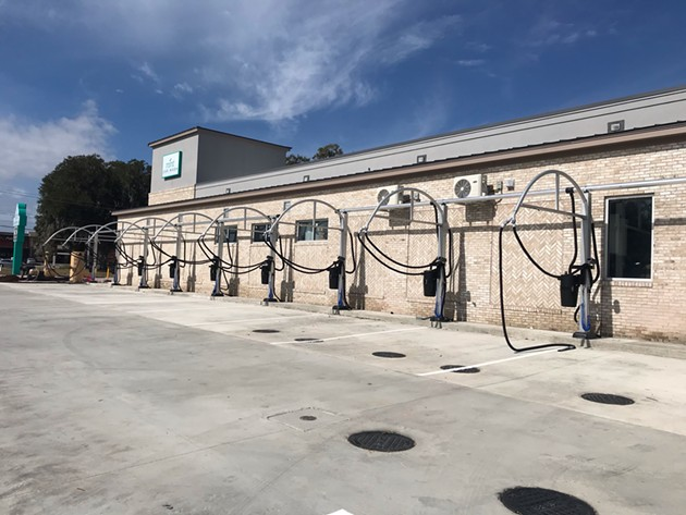 The third Mint Car Wash location opens earlier this year at 302 Commercial Dr. in Savannah. - PHOTO COURTESY OF DEWITT TILTON GROUP