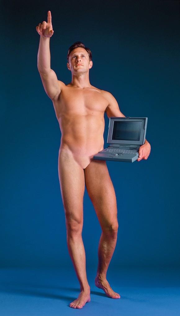 Man with a Computer, Aziz + Cucher