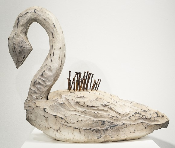"""George Bedell, """"Swan Nkisi."""""""