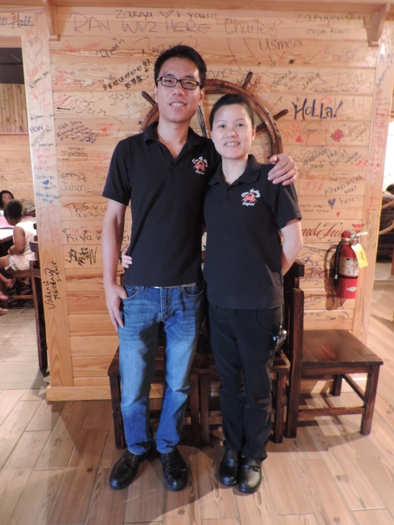 Johnny and Ivy Zhang, owners