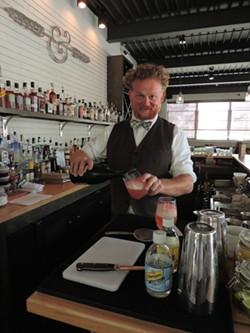 Bartender Andrew Ripley