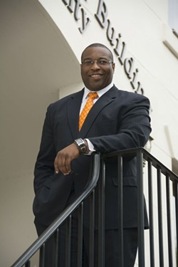 'As a former athlete, I was thinking maybe sports law orentertainment law,' Middleton says. 'But when I interned for the publicdefender's      office in BerkeleyCounty, S.C., I began to quickly realize that I love being in the fight.'
