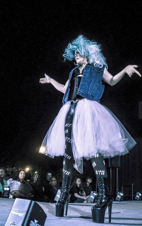 Armstrong State University hosted its first drag show last spring and it was divine. - PHOTO COURTESY OF ARMSTRONG GSA