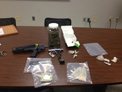 Items seized in bust