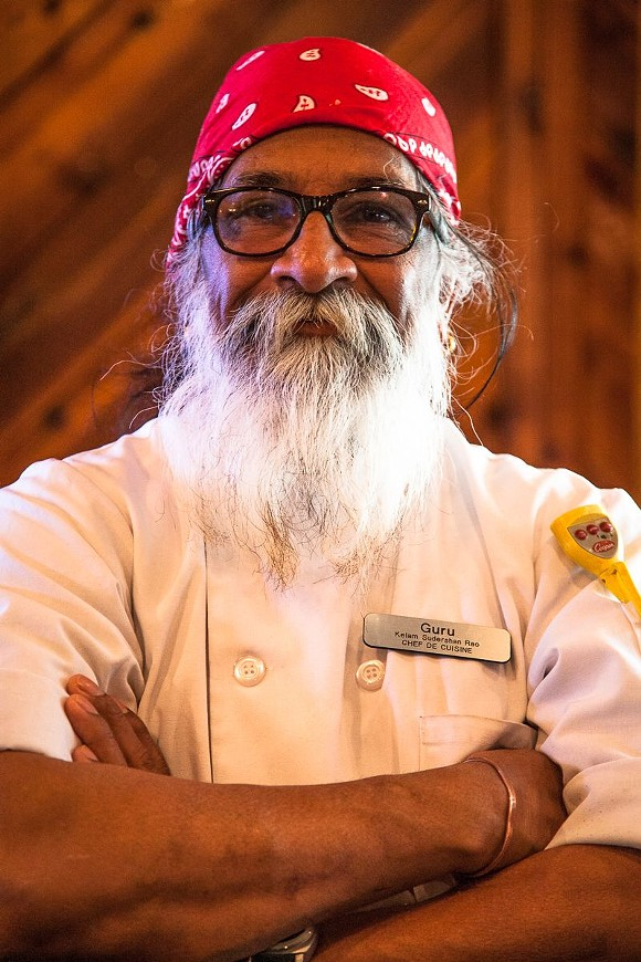 Sudershan Kelam, but everyone calls him Chef Guru. - PHOTO BY JON WAITS