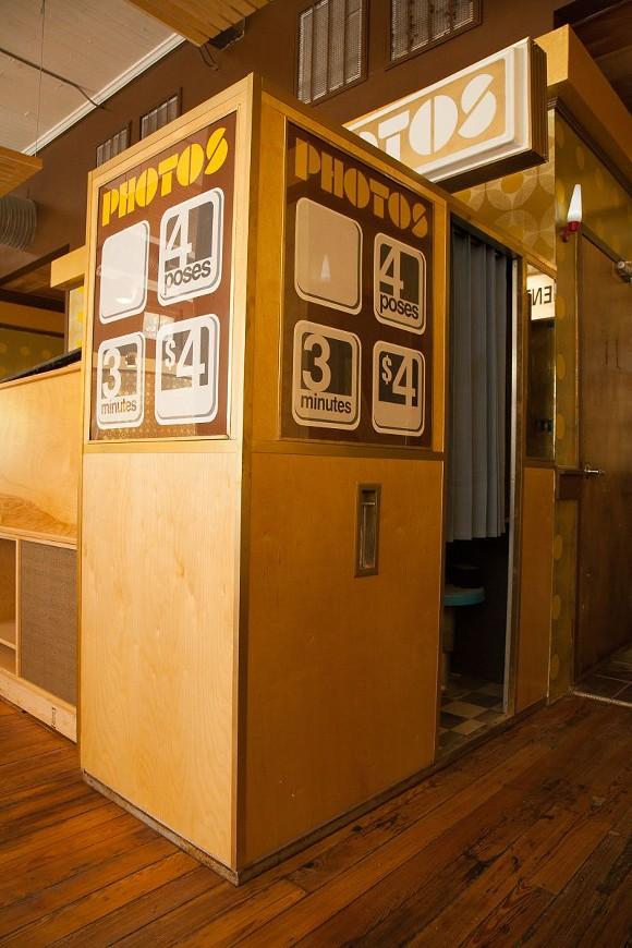 Snap a photo in an authentic vintage photo booth as a keepsake. - JON WAITS   @JWAITSPHOTO