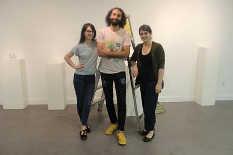 Emily Earl, AJ Perez, & Jennifer Moss - RACHEL FLORA