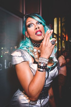 Dax ExclamationPoint will hit the home stage after charming national audiences on RuPaul's Drag Race. - DAVE SPANGENBURG