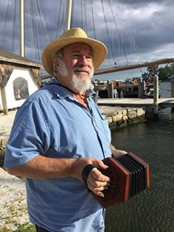 Bob Zentz will sing songs of the sea.