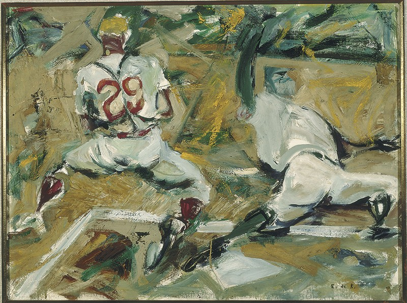 Baseball Players by Elaine de Kooning