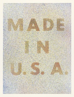America Her Best Product from Kent Bicentennial Portfolio Spirit of Independence - by Edward Ruscha