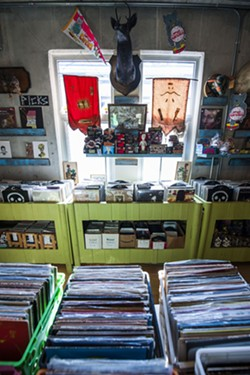 Inside Graveface Records & Curiosities. - PHOTO BY GEOFF L. JOHNSON