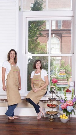 Amy Shippy (left) and Laura Hale (right) are best friends and owners of Marché de Macarons. - PHOTO BY KRISZTIAN LONYAI