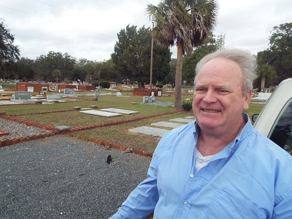 """Retired merchant seaman Michael Higgins determined the identities of five previously """"unknown"""" soldiers at Brunswick's Palmetto Cemetery."""