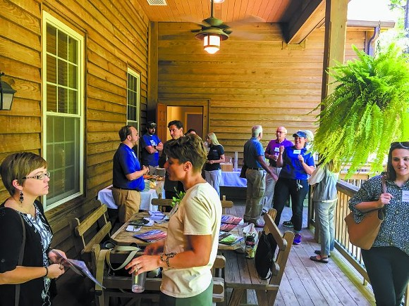 Members of the newly-formed Georgia Coastal Collaborative gathered at the New Ebenezer Retreat Center to discuss their shared mission.