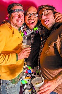 Members of Jeff Two-Names and The Born Agains at 2015's '80s-themed edition. - PHOTO BY PETERSON WORRELL