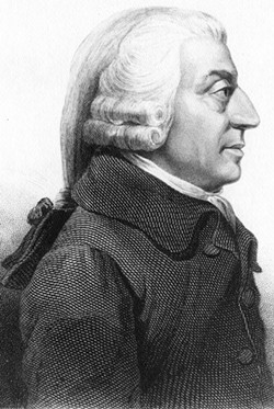 He's Adam Smith and he approves this message.