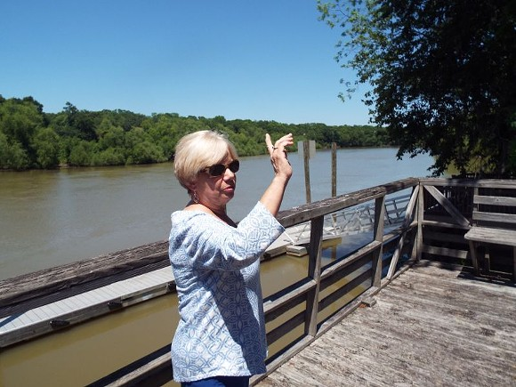 Retired teacher Peggy Riggins of Jesup led a year-long fight to keep more coal ash from coming to the Altamaha River watershed.