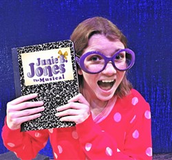 Camille Carlton plays Junie B. Jones.
