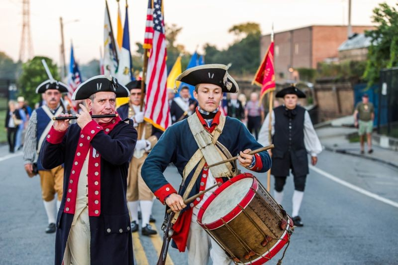 The annual reenactment of the 1779 Battle of Savannah. - PHOTO COURTESY OF COASTAL HERITAGE SOCIETY