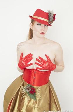 Ginger Von Bleu. - LAVENDER HAZE