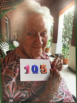Sandy West celebrates another birthday.