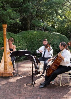Kristin King, Ricardo Ochoa, and Joseph Harvey offer Music to Entice the Soul.