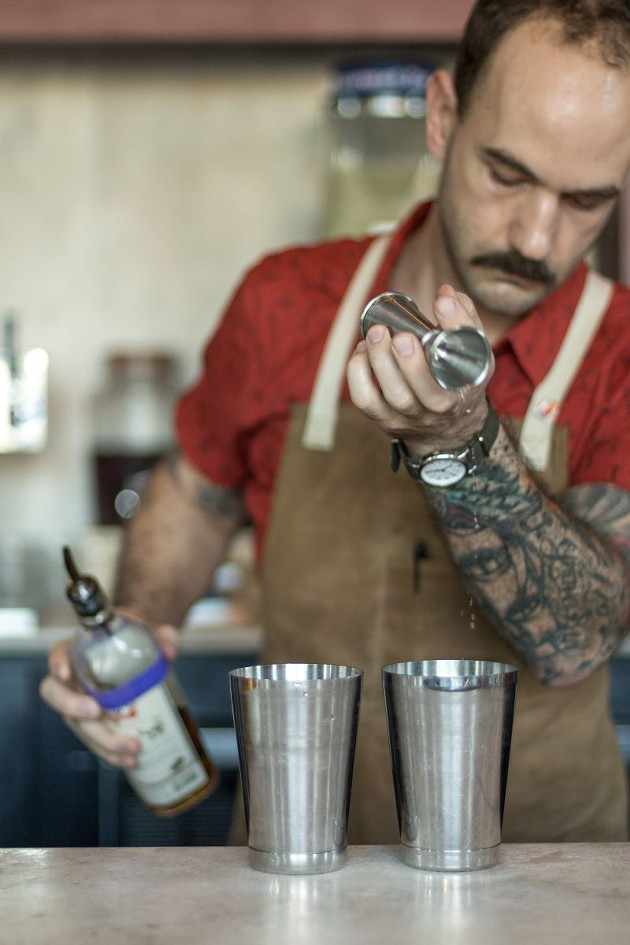 Cody Henson mixes the Mexican Firing Squad and the Hinley Margarita.