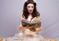 Katie James, a Children's Theatre actress since she was small, stars as Belle. - SHANNON ZALLER