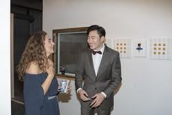 Christina Zanetti and Bin Feng.