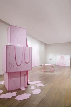 'Huh' by Lily van der Stokker