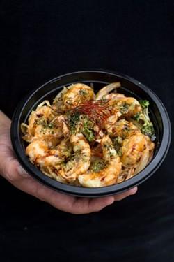 The shrimp bowl.