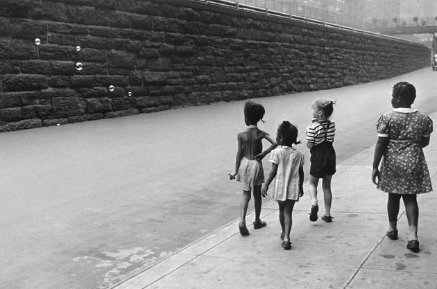 """""""New York,"""" Levitt, 1940."""