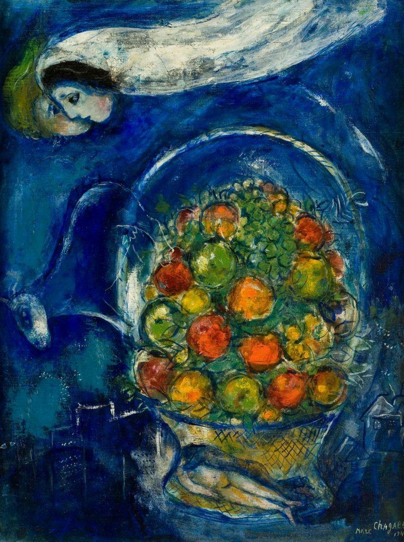 "Marc Chagall, ""Dreamer."""