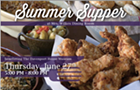 Summer Supper with Mrs. Wilkes Dining Room