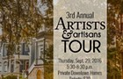 3rd Annual Artists and Artisans Tour